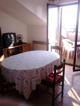 Zadar - Diklo, Jedilnica v nastanitvi vrste apartment, WiFi.
