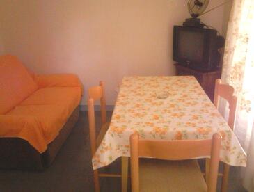 Zadar - Diklo, Jídelna v ubytování typu apartment, WiFi.