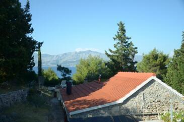 Vela Lozna, Brač, Objekt 13332 - Počitniška hiša v bližini morja s prodnato plažo.