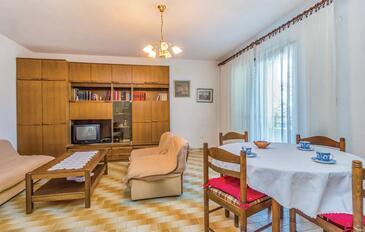 Senj, Living room in the apartment, dopusteni kucni ljubimci i WIFI.