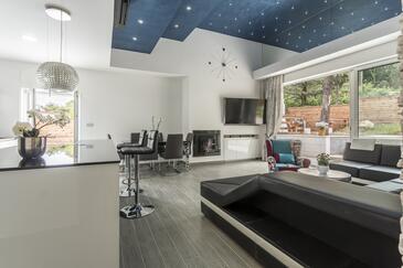 Split, Obývací pokoj 1 v ubytování typu house, dostupna klima, dopusteni kucni ljubimci i WIFI.