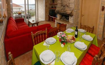 Okrug Donji, Obývacia izba 1 v ubytovacej jednotke house, dopusteni kucni ljubimci i WIFI.
