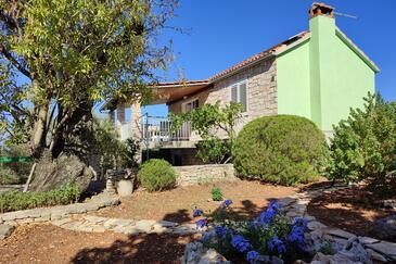 Stratinčica, Korčula, Objekt 13430 - Ubytovanie s kamenistou plážou.