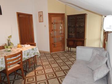 Brna, Salon dans l'hébergement en type apartment, climatisation disponible et WiFi.