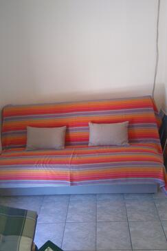 Zatoglav, Obývacia izba v ubytovacej jednotke house, dostupna klima i dopusteni kucni ljubimci.