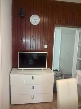 Kostrena, Living room in the apartment, dostupna klima, dopusteni kucni ljubimci i WIFI.