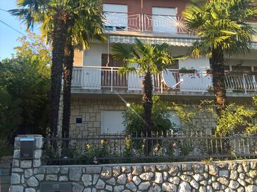 Kostrena, Rijeka, Objekt 13563 - Ubytování s oblázkovou pláží.