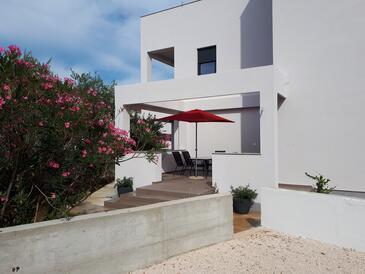 Zaton, Zadar, Property 13596 - Apartments with pebble beach.