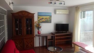Kastav, Obývací pokoj v ubytování typu apartment, s klimatizací a WiFi.