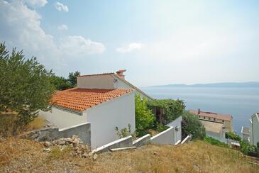 Pisak, Omiš, Property 13642 - Vacation Rentals with pebble beach.