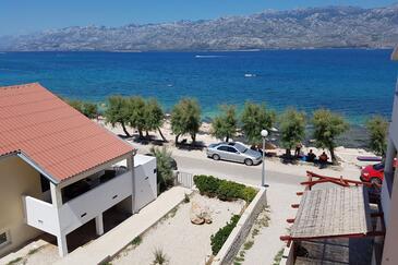 Ražanac, Zadar, Property 13677 - Vacation Rentals near sea with pebble beach.