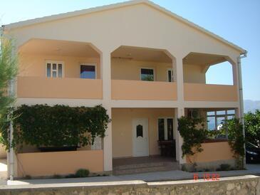 Ražanac, Zadar, Objekt 13707 - Apartmaji v bližini morja s prodnato plažo.
