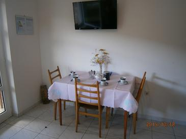 Kalebova Luka, Dining room in the apartment, air condition available and WiFi.