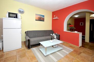 Okrug Donji, Obývacia izba v ubytovacej jednotke apartment, WiFi.