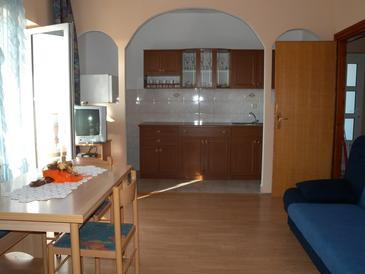 Senj, Obývací pokoj v ubytování typu apartment, WIFI.