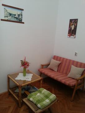 Rijeka, Obývací pokoj v ubytování typu studio-apartment, WIFI.