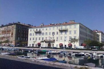 Rijeka, Rijeka, Objekt 13746 - Ubytování v blízkosti moře s oblázkovou pláží.