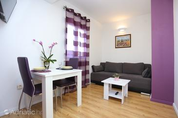 Ostrvica, Living room in the apartment, (pet friendly) and WiFi.