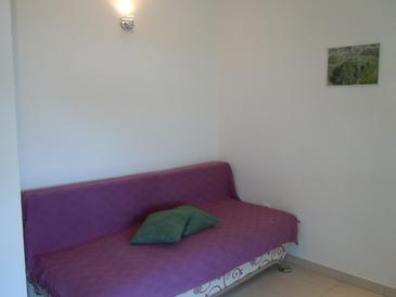 Sveta Nedilja, Living room in the apartment, air condition available, (pet friendly) and WiFi.