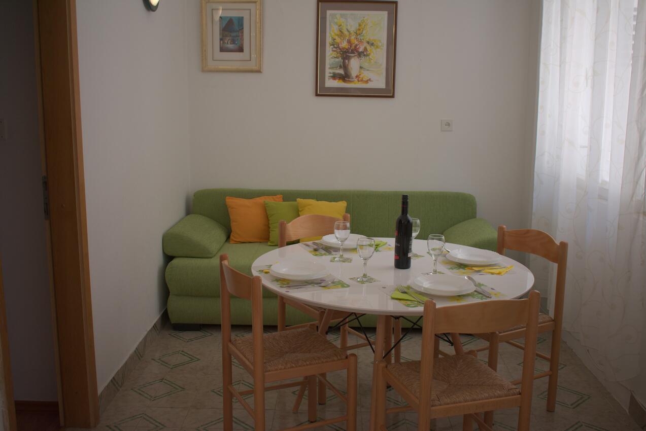 Studio Appartment im Ort Podgora (Makarska), Kapaz Ferienwohnung