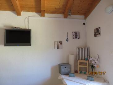 Beli, Obývací pokoj v ubytování typu house, domácí mazlíčci povoleni a WiFi.