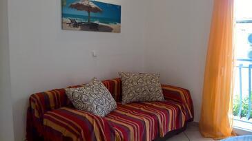 Baška, Гостиная в размещении типа apartment, доступный кондиционер и WiFi.