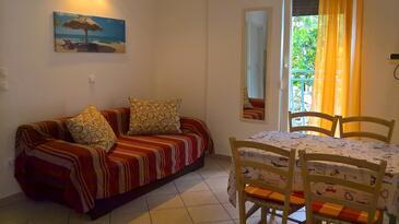 Baška, Dnevna soba v nastanitvi vrste apartment, dostopna klima in WiFi.