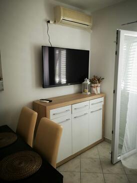 Zubovići, Obývací pokoj v ubytování typu apartment, s klimatizací a WiFi.