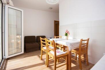 Grebaštica, Wohnzimmer in folgender Unterkunftsart apartment, WiFi.