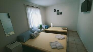 Vinjerac, Spálňa 1 v ubytovacej jednotke apartment, dopusteni kucni ljubimci i WIFI.