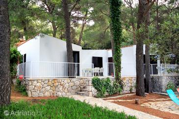 Ivan Dolac, Hvar, Property 140 - Vacation Rentals near sea with pebble beach.