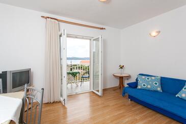 Lopud, Obývací pokoj v ubytování typu apartment, WiFi.