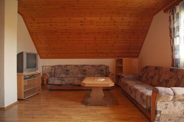 Smoljanac, Obývací pokoj v ubytování typu apartment, domácí mazlíčci povoleni a WiFi.