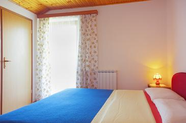 Smoljanac, Ložnice v ubytování typu room, dopusteni kucni ljubimci i WIFI.