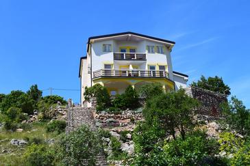 Ribarica, Karlobag, Property 14032 - Apartments near sea with pebble beach.