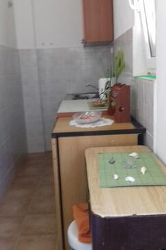 Luka Dubrava, Kitchen in the studio-apartment, (pet friendly) and WiFi.
