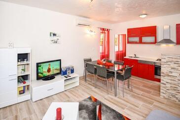 Lovorno, Obývacia izba 1 v ubytovacej jednotke house, dopusteni kucni ljubimci i WIFI.