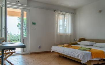 Sveta Nedilja, Living room in the apartment, air condition available and WiFi.
