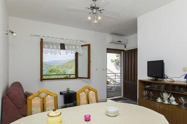Žuronja, Obývacia izba v ubytovacej jednotke apartment, klimatizácia k dispozícii a WiFi.