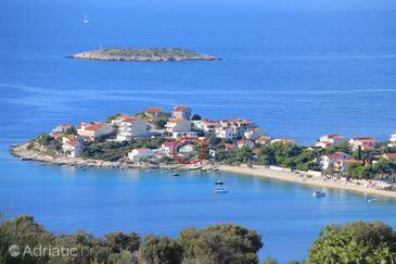 Sevid, Trogir, Szálláshely 14103 - Apartmanok a tenger közelében kavicsos stranddal.