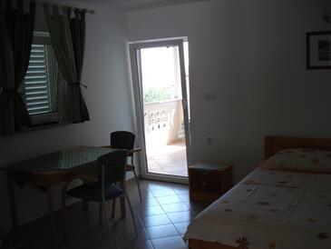 Banjol, Jídelna v ubytování typu studio-apartment, WiFi.