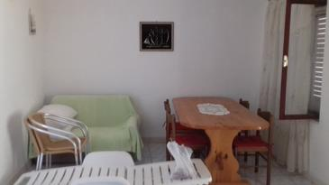 Luka Dubrava, Living room in the apartment, (pet friendly) and WiFi.