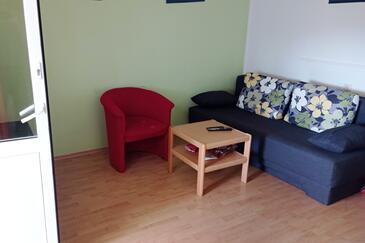 Barbat, Obývací pokoj v ubytování typu apartment, domácí mazlíčci povoleni a WiFi.