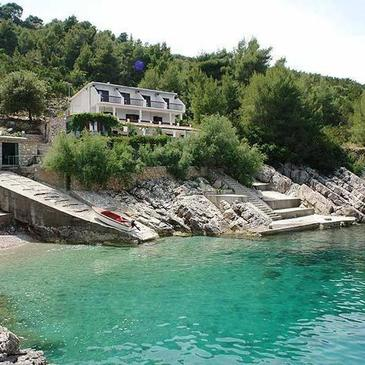 Uvala Vele Gaćice, Hvar, Objekt 14255 - Ubytovanie blízko mora.