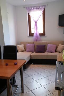 Martinšćica, Гостиная в размещении типа studio-apartment, Домашние животные допускаются и WiFi.
