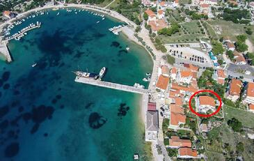 Martinšćica, Cres, Objekt 14334 - Ubytování v blízkosti moře s oblázkovou pláží.