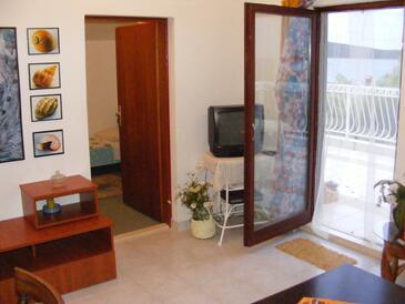Sevid, Dnevni boravak u smještaju tipa apartment, dostupna klima, kućni ljubimci dozvoljeni i WiFi.