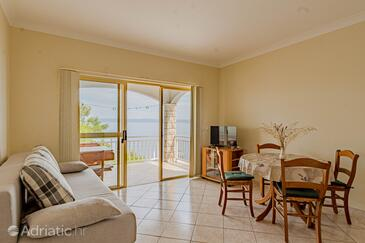 Prigradica, Living room in the apartment, WiFi.