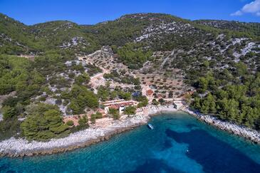 Golubinka, Hvar, Property 14344 - Vacation Rentals near sea with pebble beach.