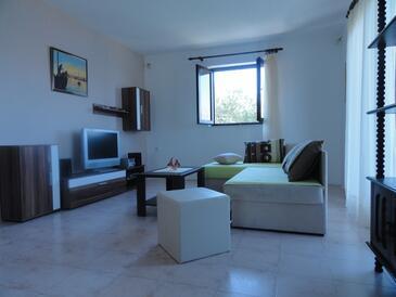 Okrug Donji, Pokój dzienny w zakwaterowaniu typu house, Dostępna klimatyzacja i WiFi.